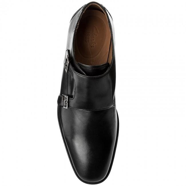 Clarks Basse Leather Donna Scarpe Black Step Eleganti Gilman 261276647 Pn8X0Owk