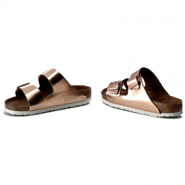 Ciabatte BIRKENSTOCK - Arizona 0952093 Metallic Copper - Ciabatte da giorno - Ciabatte - Ciabatte e sandali - Donna