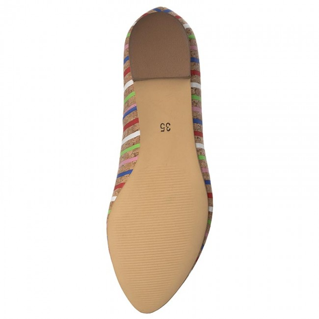 Maccioni Basse Loafers Donna 8911 Scarpe Beżowy OyvnwN0m8
