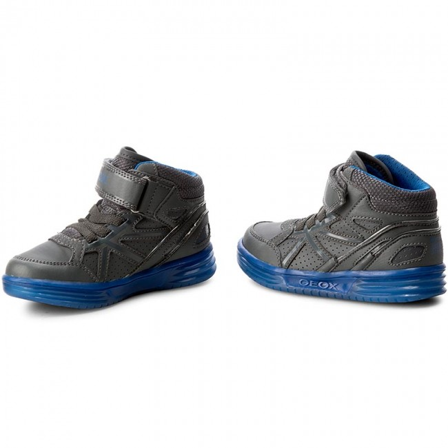 J Argonat B. C J5429c Geox Sneakers Bambino Dk GreyRoyal