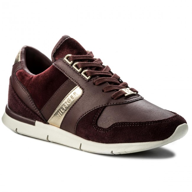 Sneakers TOMMY HILFIGER Skye 1C3 FW0FW02023 Decadent Chocolate 295