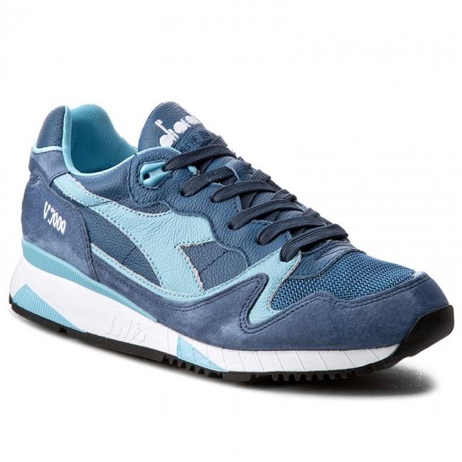 Sneakers DIADORA V7000 Italia 501.170942 01 C6582 Air BlueDark Blue