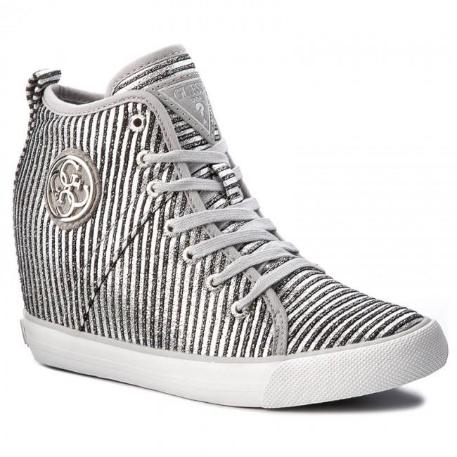 Sneakers GUESS Jilly FLJLL3 FAM12 SILVE