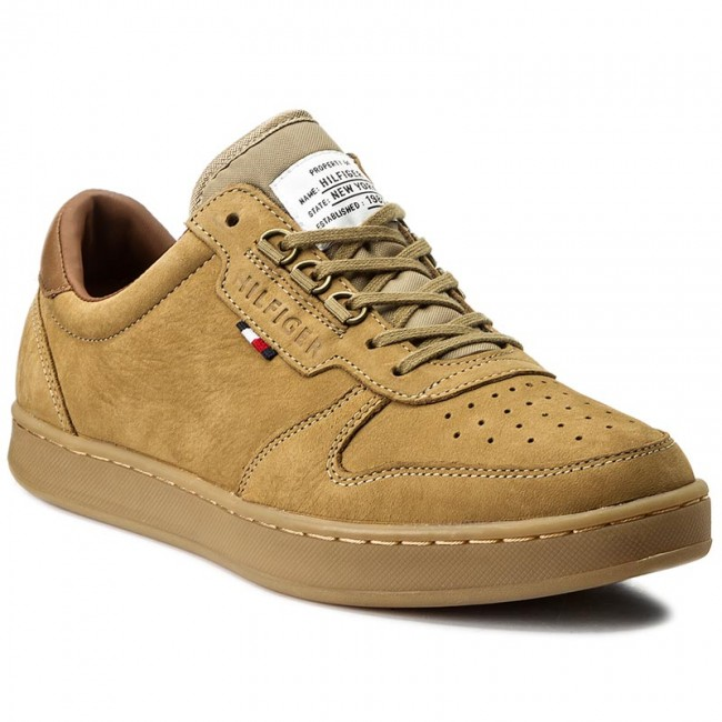 Tommy Hilfiger HOXTON Sneakers basse Finta pelle Tessuto