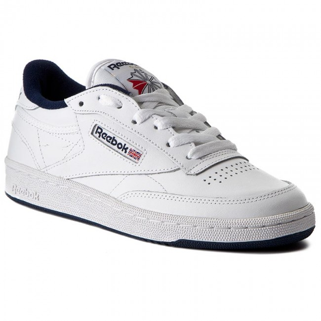 reebok club c 85 white navy