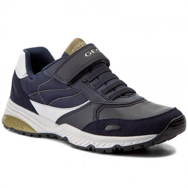 Sneakers GEOX J Bernie A J7411A 0FU54 CF4E3 D NavyPistachio