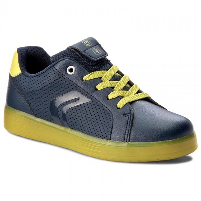 Sneakers GEOX J Kommodor B. B J745PB 0BCBU C0749 D NavyLime