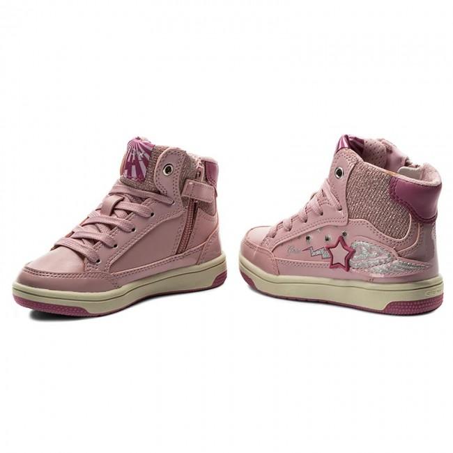 Sneakers GEOX J Creamy A J74L5A 0AJAS C0799 PinkFuchsia