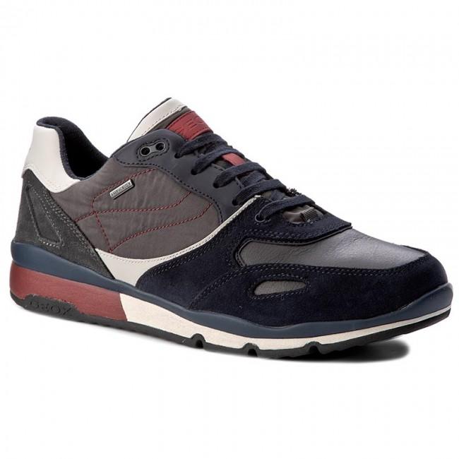 Sneakers GEOX U Sandford B Abx A U44S7A 020FU C4244 NavyDk Red