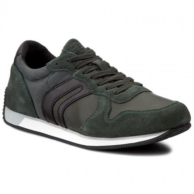 Sneakers GEOX U Vinto C U742LC 022ME C3242 Dk ForestBlack