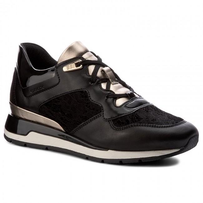 Donna Sneakers Geox SHAHIRA Sneakers basse dark burgundy