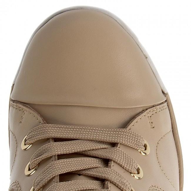 Scarpe Sneakers 01 Donna 28372 03 Beige Basse Kazar Bridget PkZiuXwTOl