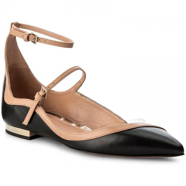 separation shoes 92b4c 6f36a Scarpe basse ELISABETTA FRANCHI - SA-67L-77E2-V332 Nero/Rosa Antic 698