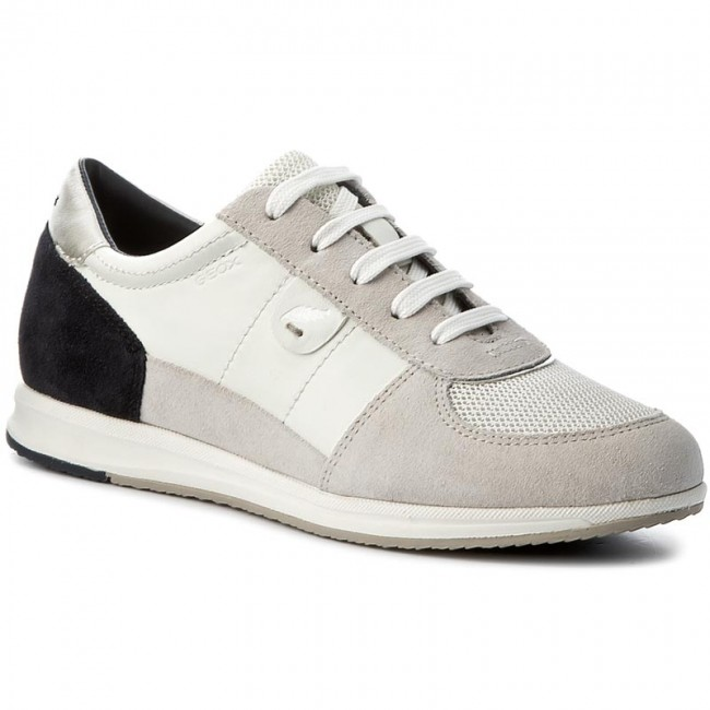 Sneakers GEOX D Avery B D52H5B 05422 C1352 WhiteOffwhite