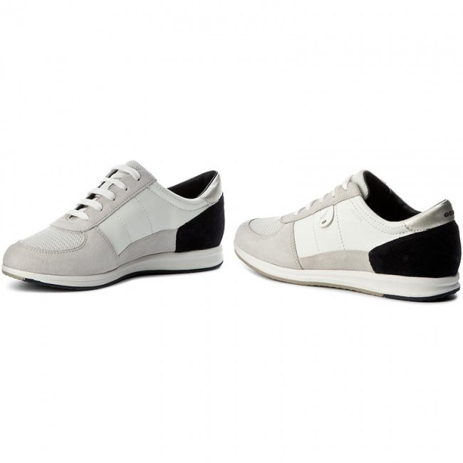 Sneakers GEOX D Avery B D52H5B 05422 C1352 WhiteOffwhite