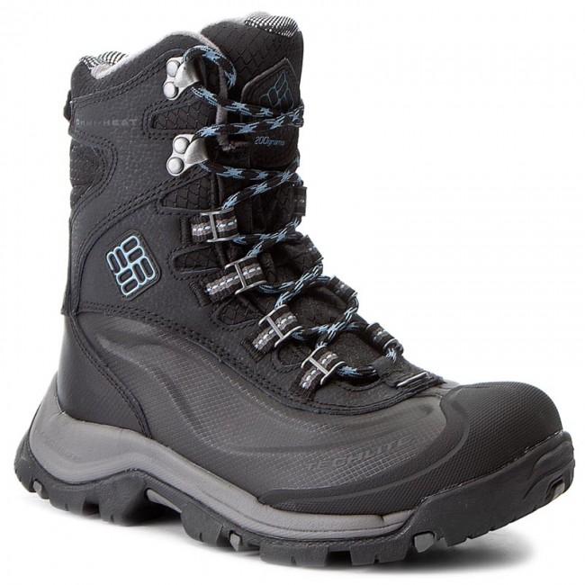 Stivali da neve COLUMBIA - Bugaboot Plus III Omni-Heat BL1620 Black/Dark Mirage 010 - Stivali da neve - Stivali e altri - Donna