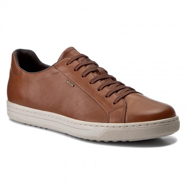 Cuidar Posesión Supervisar  Sneakers GEOX - U Ricky F U64W1F 00043 C6001 Cognac - Sneakers - Scarpe  basse - Uomo | escarpe.it