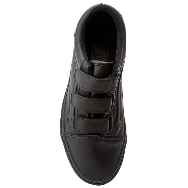 Scarpe basse VANS - Old Skool V VA3D29OOZ (Mono Leather) Black - Basse - Scarpe basse - Donna