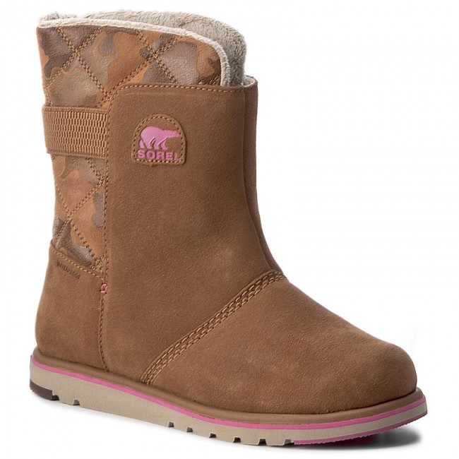 quality design 46d1e 5d662 Scarpe SOREL - Youth Rylee Camo NY1900 Elk/Pink Ice 286
