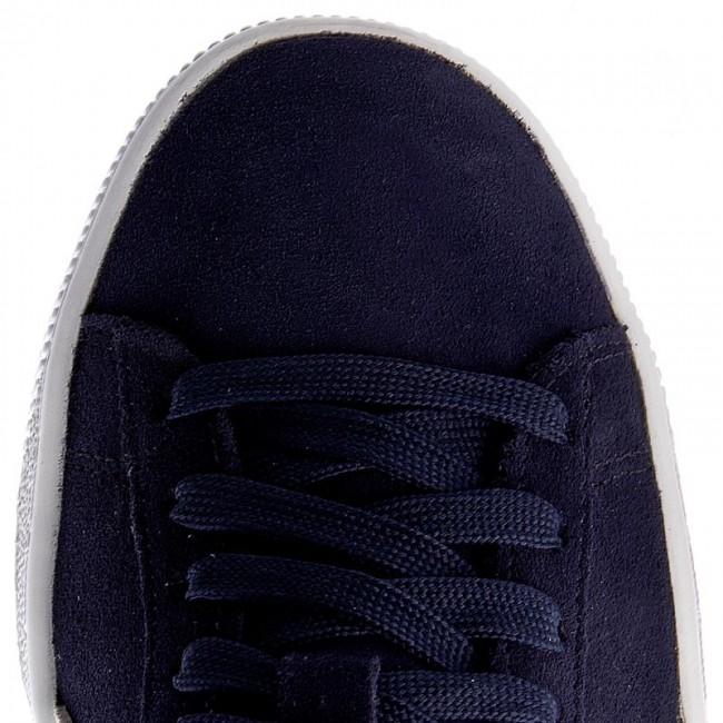Puma Donna 51 Peacoat Sneakers Basse Scarpe Suede Classic356568 white SzqVpGUM