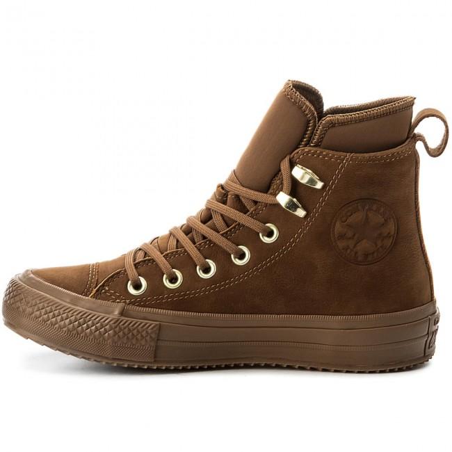 Wp Hi Brown Donna Sneakers Converse Scarpe Boot brown brass Basse 557946c Ctas n8kwOP0