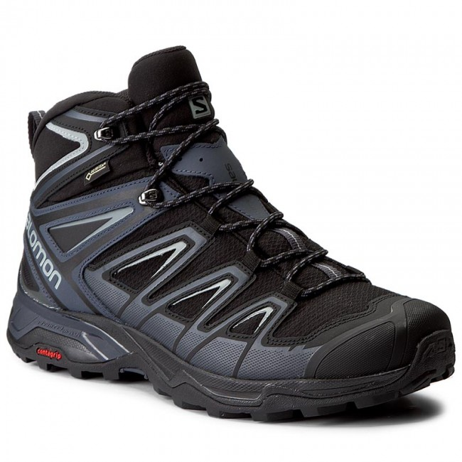 d2b979fa37 Scarpe da trekking SALOMON - X Ultra 3 Mid Gtx GORE-TEX 398674 33 V0  Black/India Ink/Monument