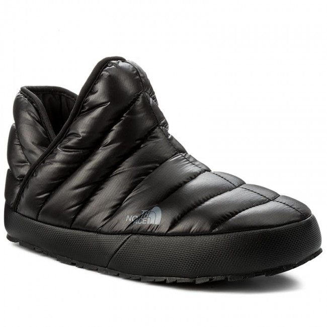 huge selection of a4d09 b7777 Pantofole THE NORTH FACE - Thermoball Traction Bootie T93MKHYXA Shiny Tnf  Black/Dark Shadow Grey