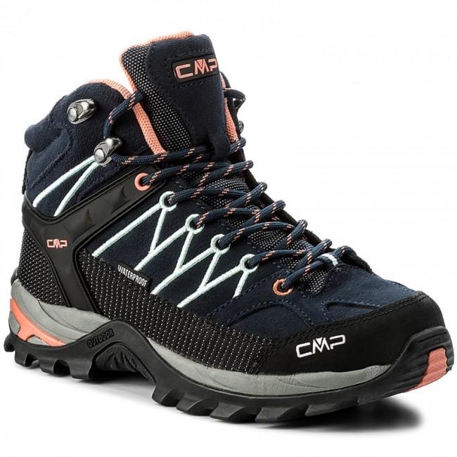 Scarpe da trekking CMP - Rigel Mid Wmn Trekking Shoes Wp 3Q12946  B. Blue/Giada/Peach 92AD