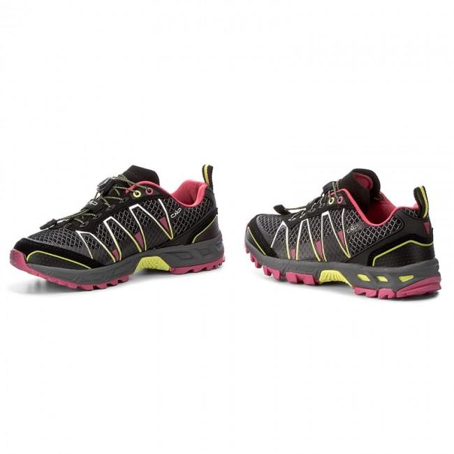 Scarpe da trekking CMP Atlas Wmn Trail Shoes 3Q95266 NeroRasperryAcido 56AE