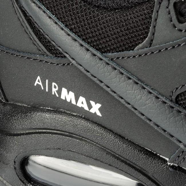 SCARPA UOMO NIKE AIR MAX COMMAND FLEX (GS) 844346 002 BLACK