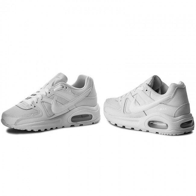 Scarpe NIKE Air Max Command Flex (GS) 844346 101 WhiteWhiteWhite