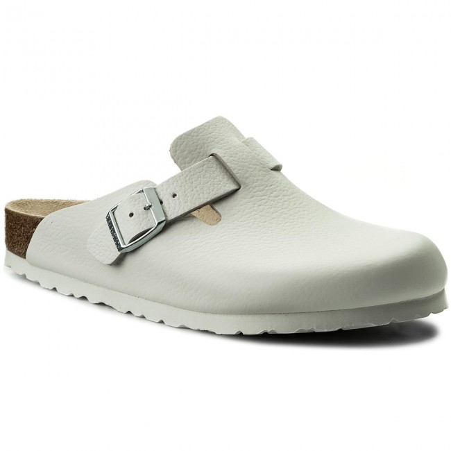 designer fashion 4b9eb 47329 Ciabatte BIRKENSTOCK - Boston Bs 0060131 White