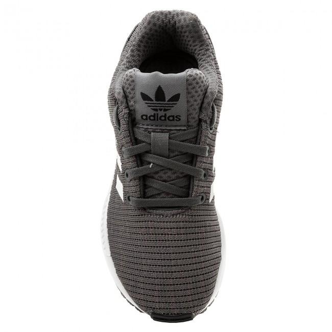 Adidas Zx ftwwht Bambino Basse Cm8128 Stringate Flux Scarpe cblack C Grefiv Bambina OP8n0wkX