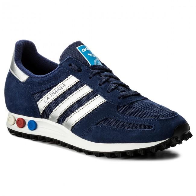 Adidas LA Trainer Shoes CQ2278 Lifestyle Blue