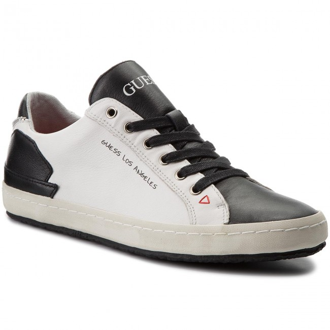 6c9c1334ae Sneakers GUESS - Low FMLOW1 LEA12 WHITE