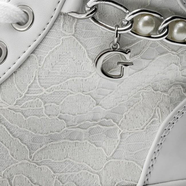 Solo un giorno Bianco Sneakers GUESS Bradie2 FLBD21 LAC12