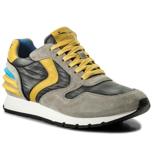 newest 20b4a e6639 Sneakers VOILE BLANCHE - Liam Power 0012012246.03.9125 Grigio/Giallo