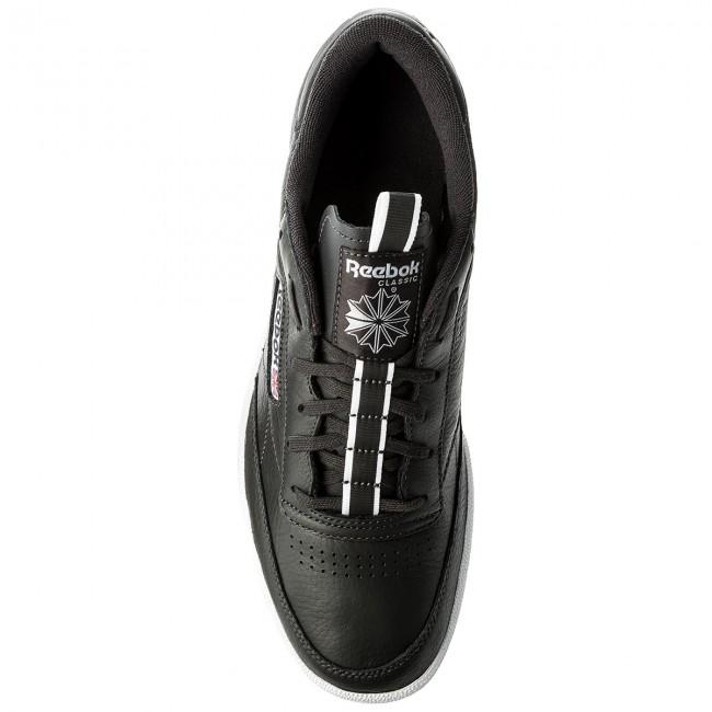 Scarpe Reebok - Club C 85 Rt CM9571 Coal/White/Moss - Sneakers - Scarpe basse - Donna