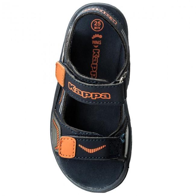 Bambino Pure Navy orange Kappa 260594k E Ciabatte Sandali K 6744 6fYgby7
