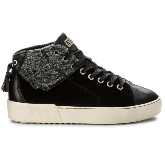 Donna Napapijri Basse Black N00 Sneakers 15741190 Scarpe Minnie iXOPkuZ