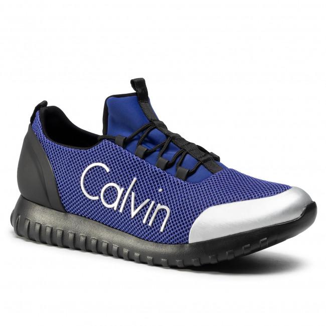 Sneakers CALVIN KLEIN JEANS - Ron S0506 Steel Blue/Silver
