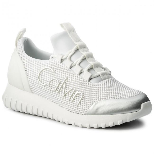 Sneakers CALVIN KLEIN JEANS - Reika R0666 White/Silver