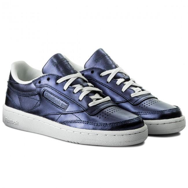 Scarpe Reebok - Club C 85 S Shine Cm8687 Royal Dark Blue/white Sneakers Basse pa1QX