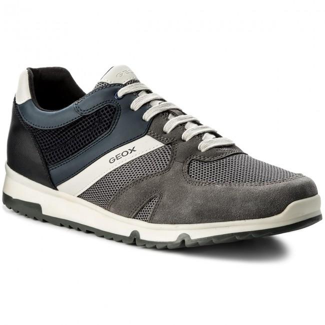 online store 85965 642e2 Sneakers GEOX - U Wilmer B U823XB 01422 C9AF4 Anthracite/Navy