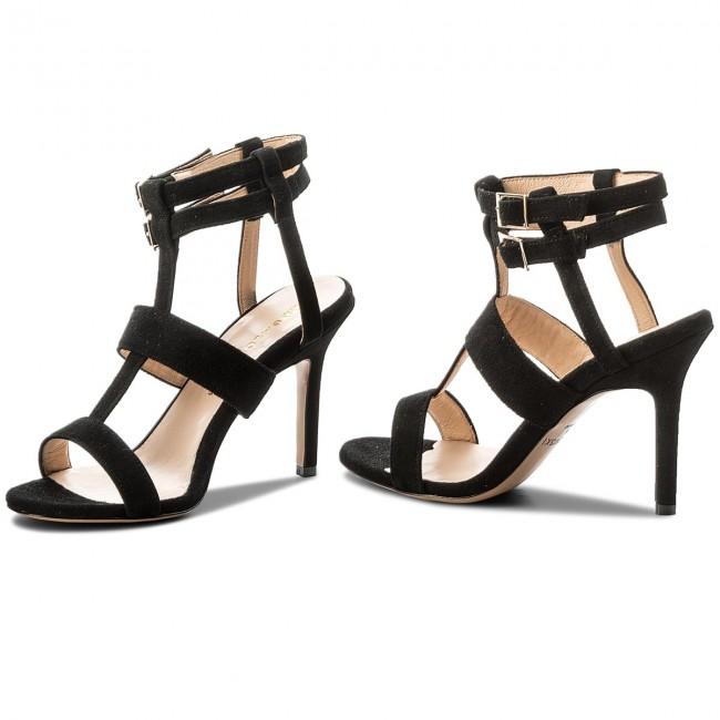 Sandali BALDOWSKI - W00353-3436-002 Zamsz Czarny - Sandali eleganti - Sandali - Ciabatte e sandali - Donna