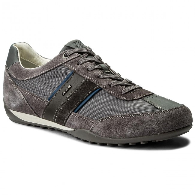 U52t5c 02211 C9002 C Geox Wells U Dk Sneakers Grey Ybg6yf7v