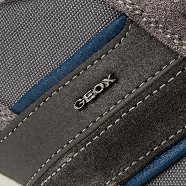 Sneakers GEOX U Wells C U52T5C 02211 C9002 Dk Grey