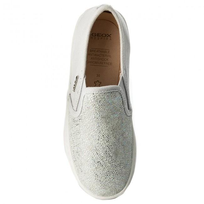 Scarpe Bambina S GD Geox Slip Bambino silver on Sportive Grey C1355 Basse J62d5d 007dw J Kilwi PkwOn0XN8