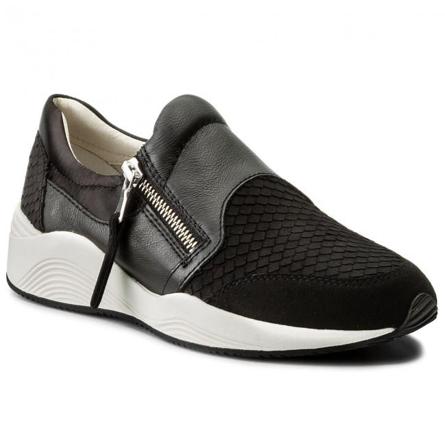Sneakers GEOX D Omaya A D620SA 09D22 C6004 Chestnut
