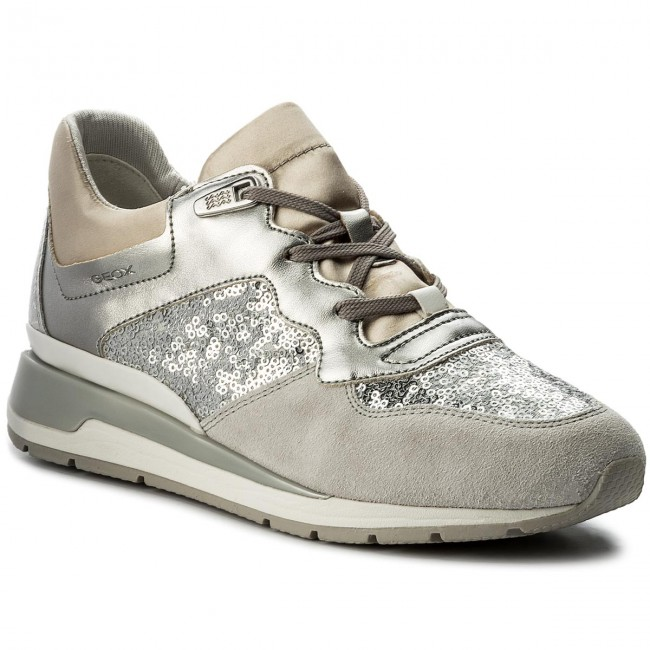 B 0ataj D Silver D62n1b Sneakers Shahira C1007 Geox EH2DWIY9